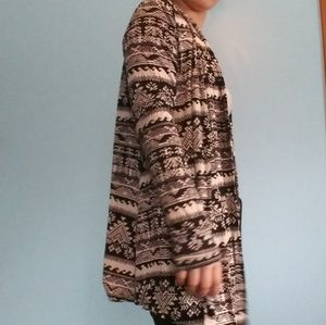 Other - Tribal cardigan